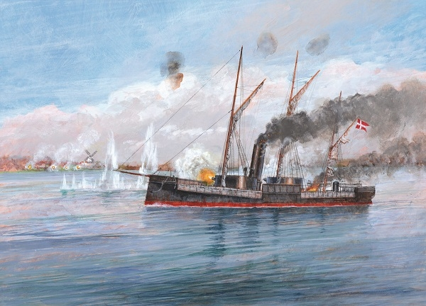 European Ironclads 1860–75 artwork