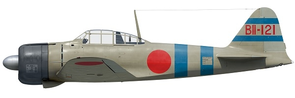 A6M Zero-sen Aces 1940-42 artwork