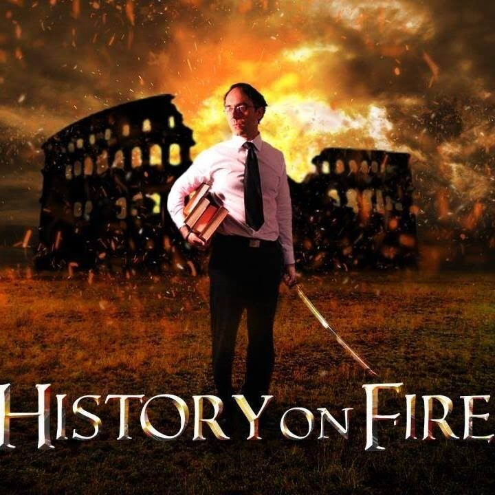 History on Fire podcast