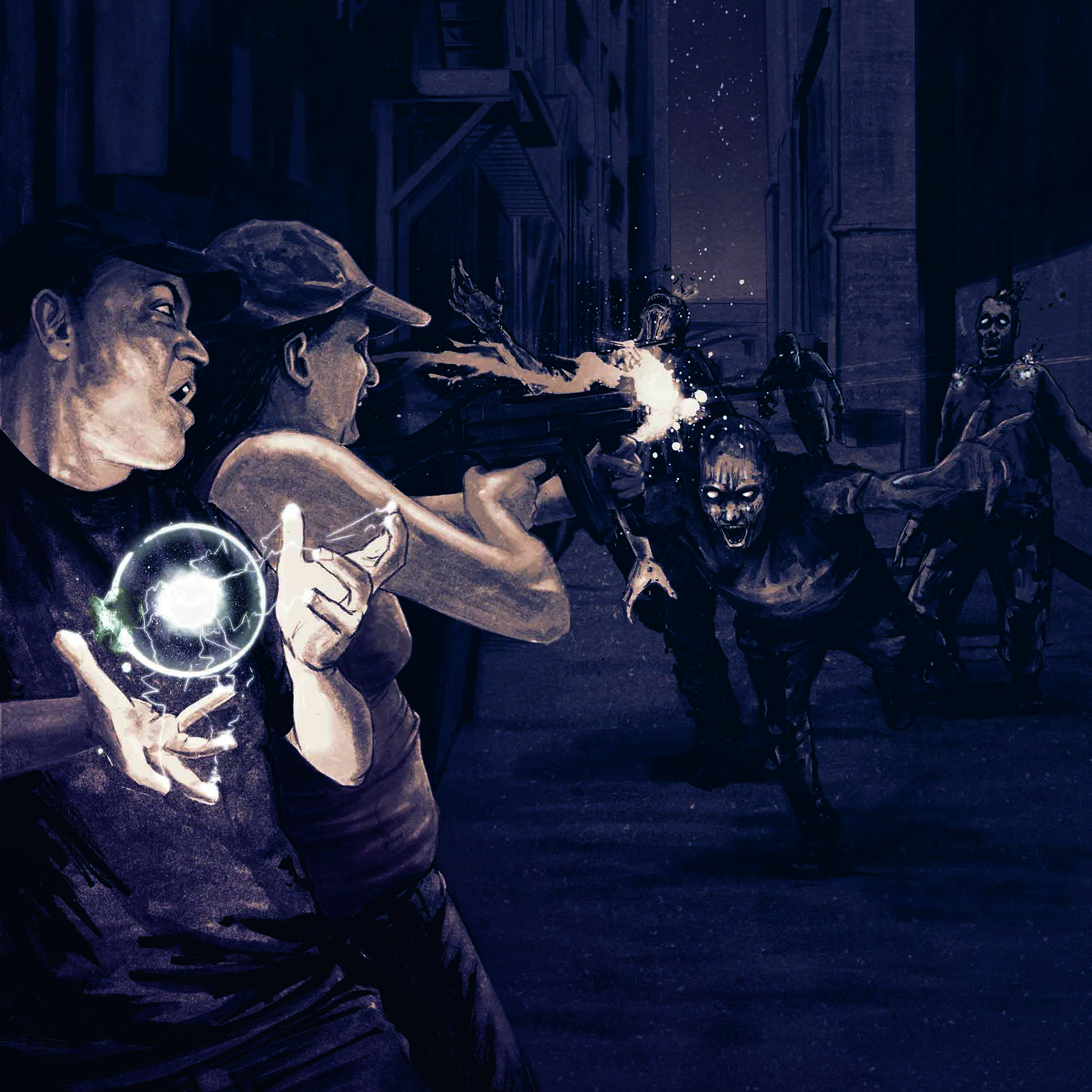 Sigil and Shadow Alley Attack