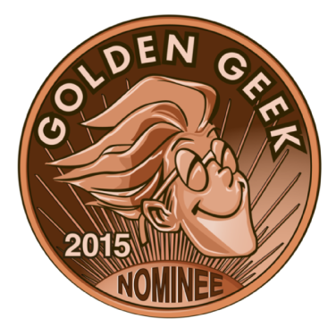 Golden geek nominee