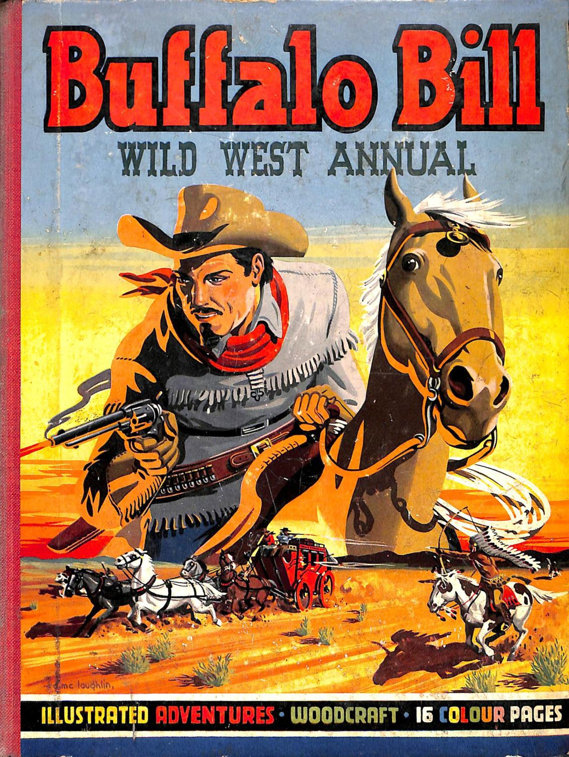 Buffalo Bill Wild West Annual Cover