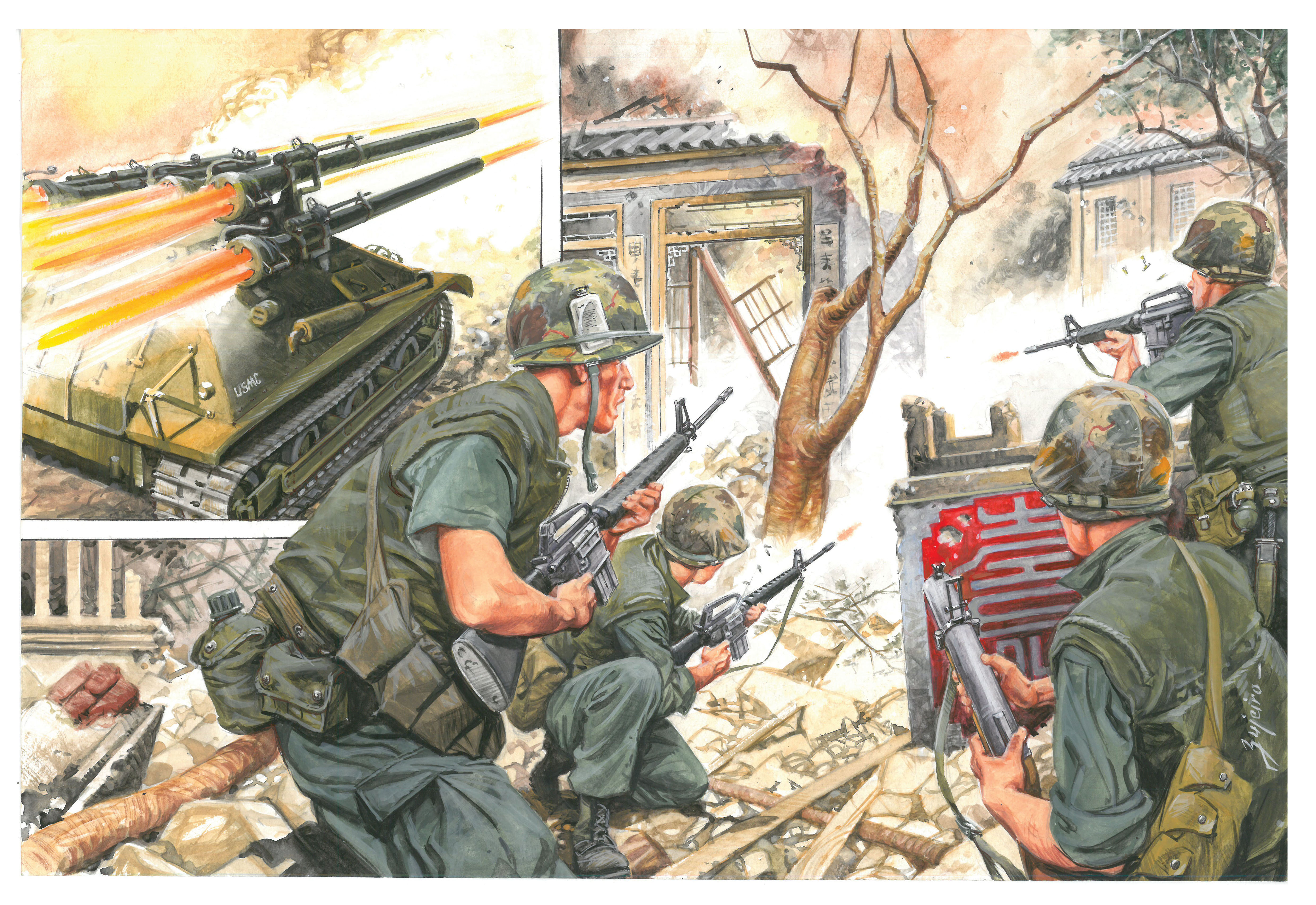 The Battle of Hue 1968