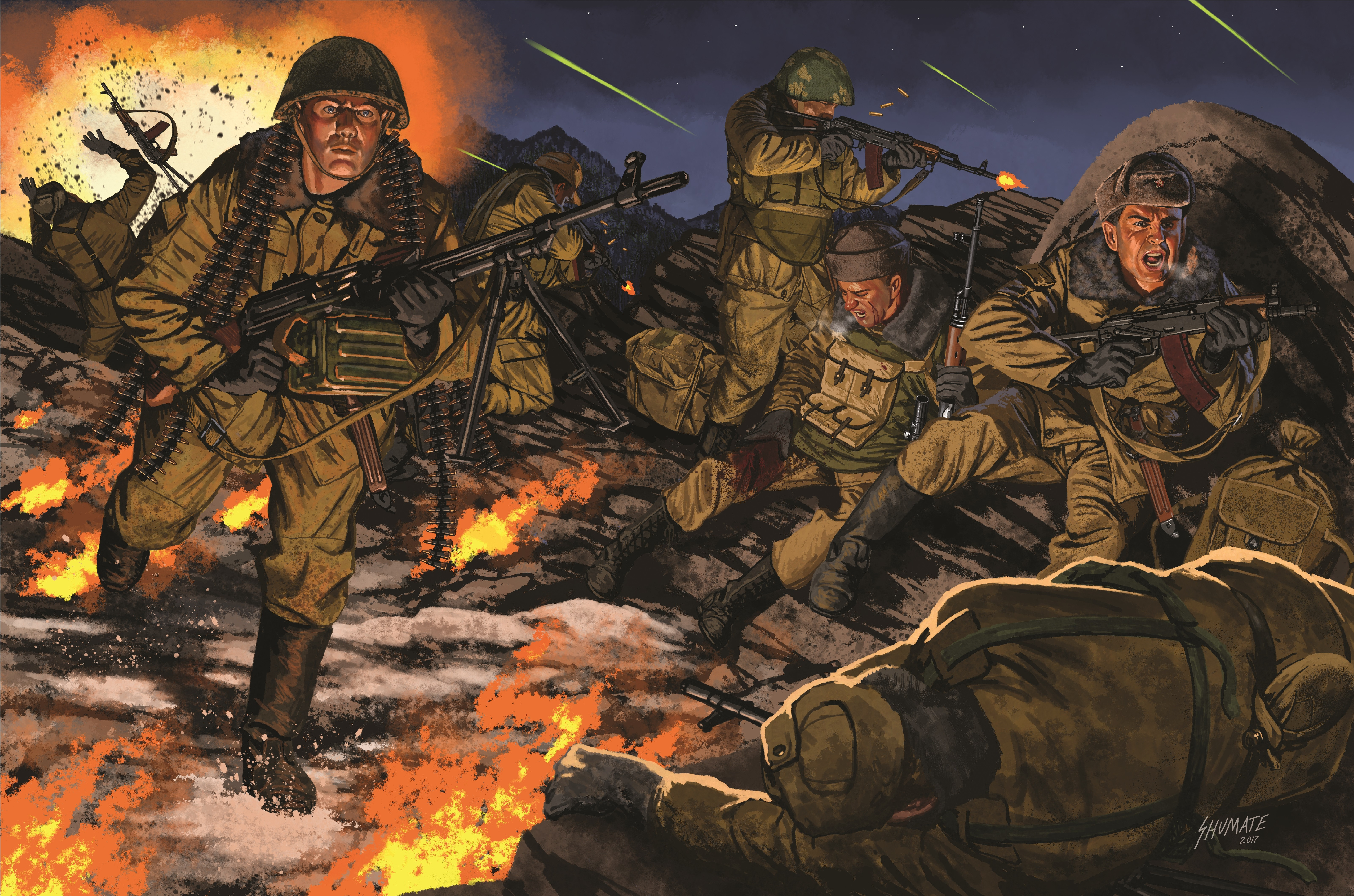 Soviet Paratroopers at Hill 3234