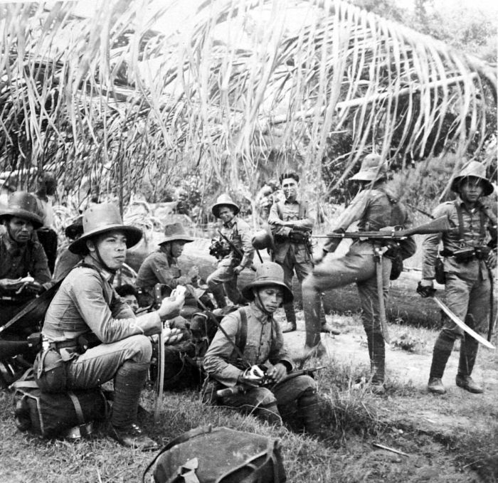 Indigenous KNIL troops, 1938