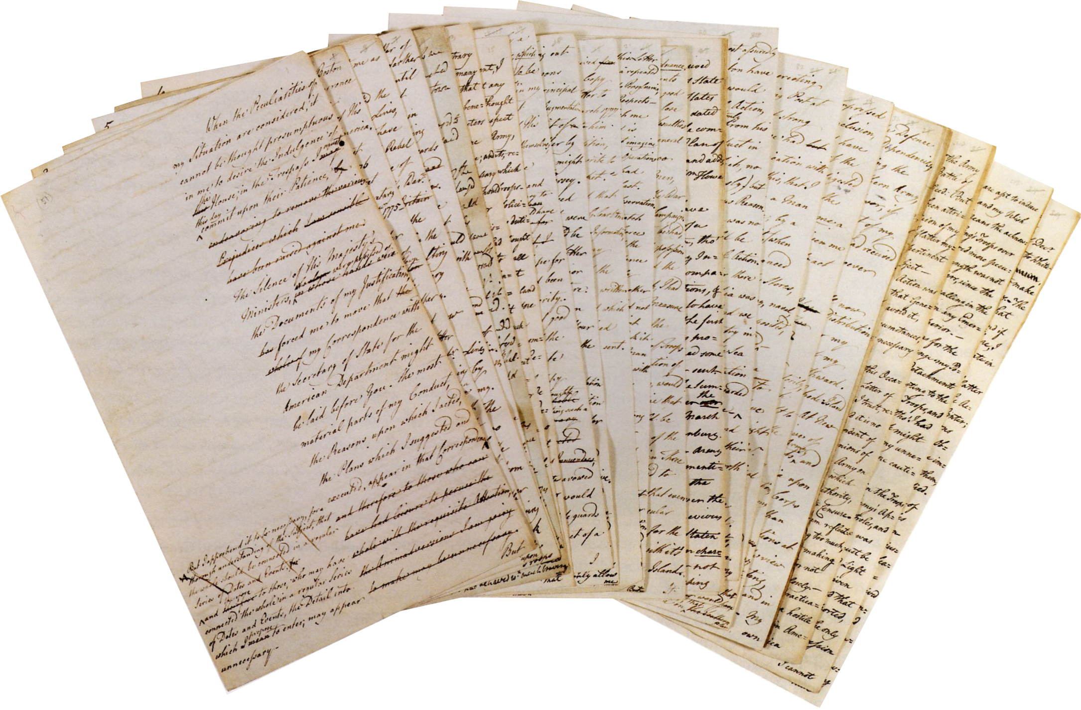 General Howe's narrative papers