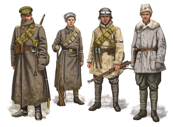 Armies of the Baltic Independence Wars 1918–20 artwork