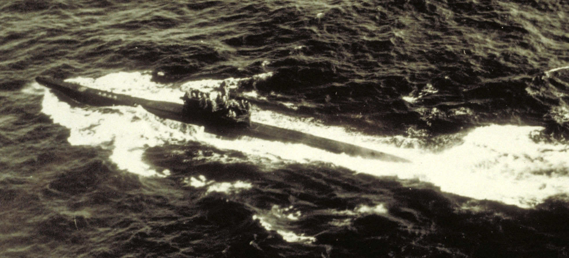 U-1105 at the time of its surrender