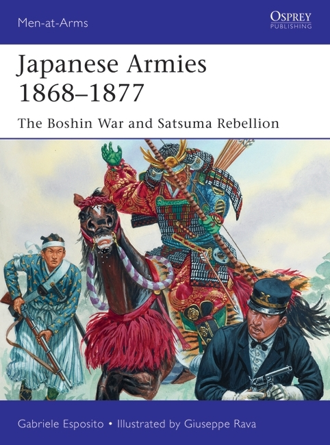 Japanese Armies 1868–1877 Book Cover