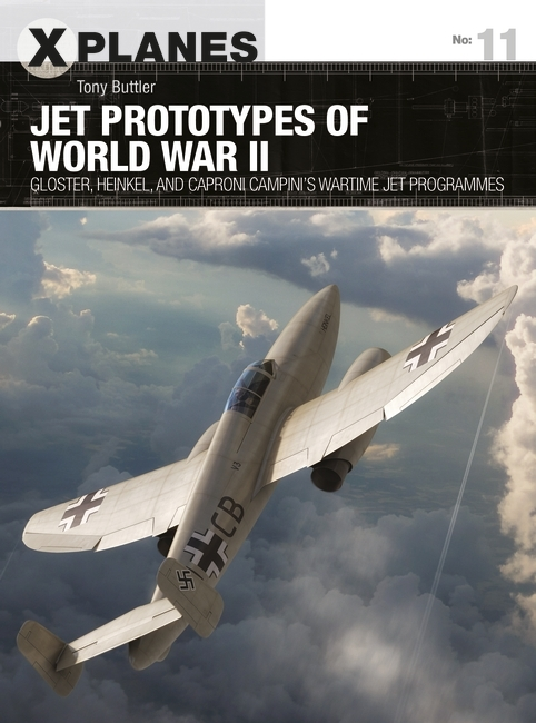 Jet Prototypes of World War II Cover
