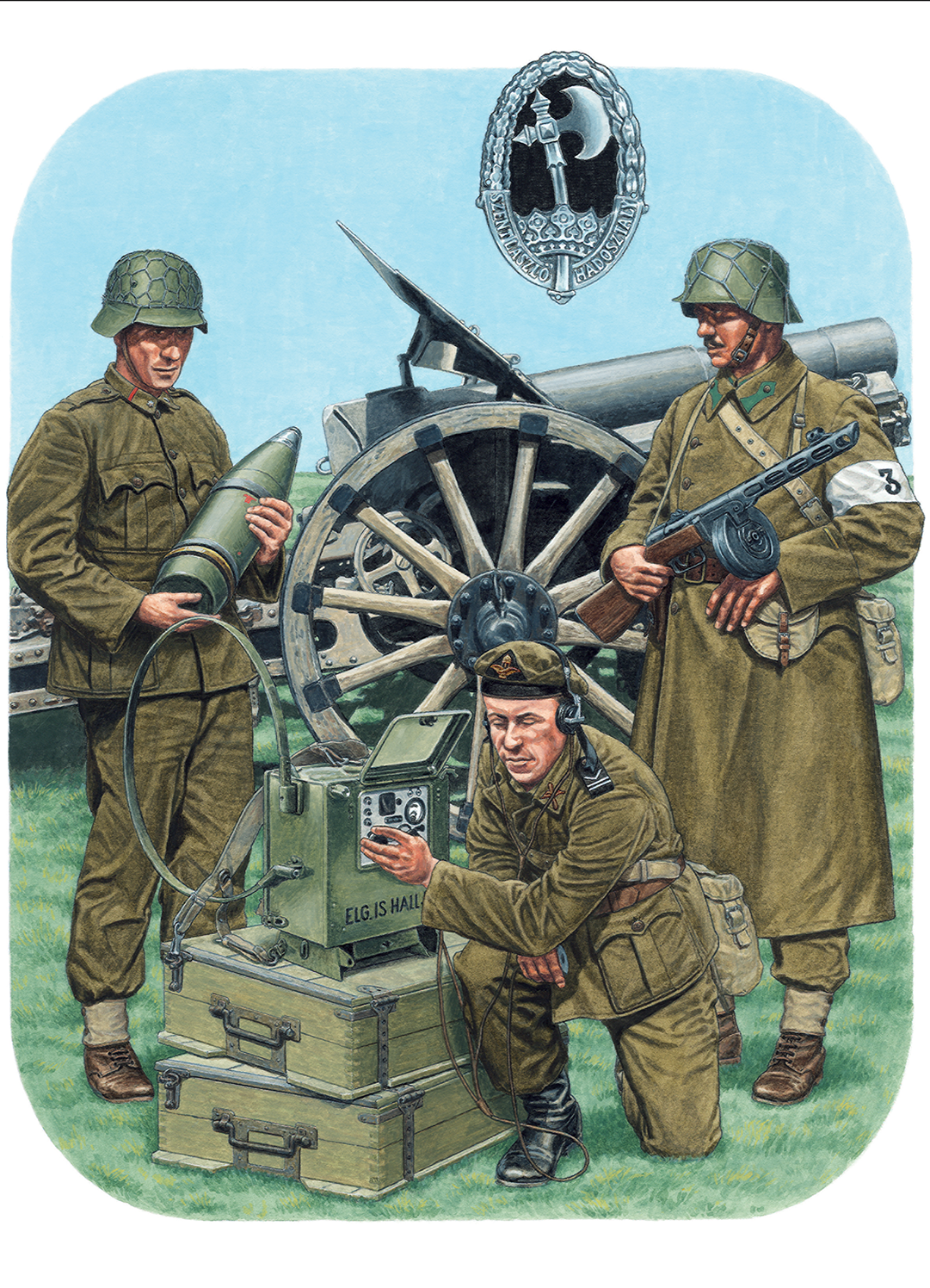 cce510b58 Blog - Bolt Action: Campaign: Fortress Budapest - Painting the Royal ...