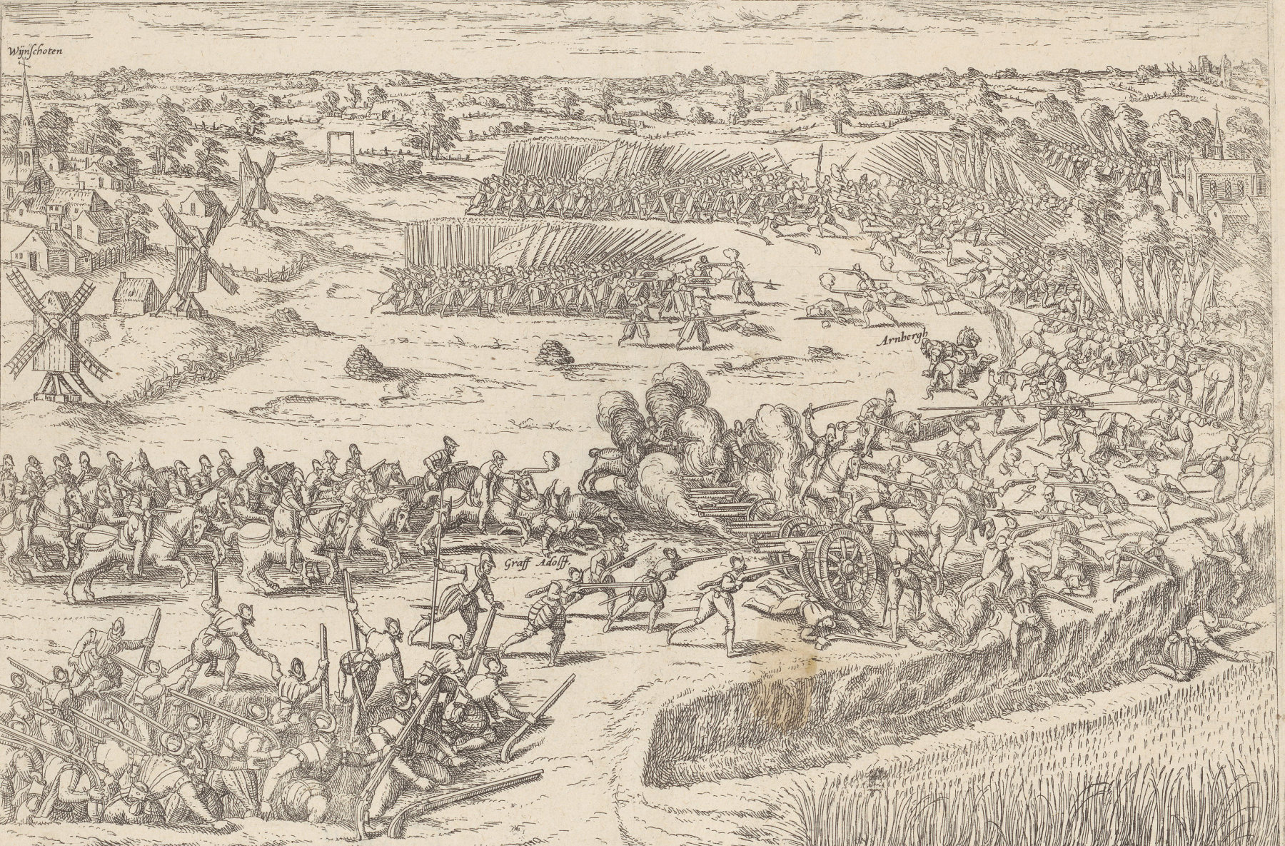 the battle of Heiligerlee