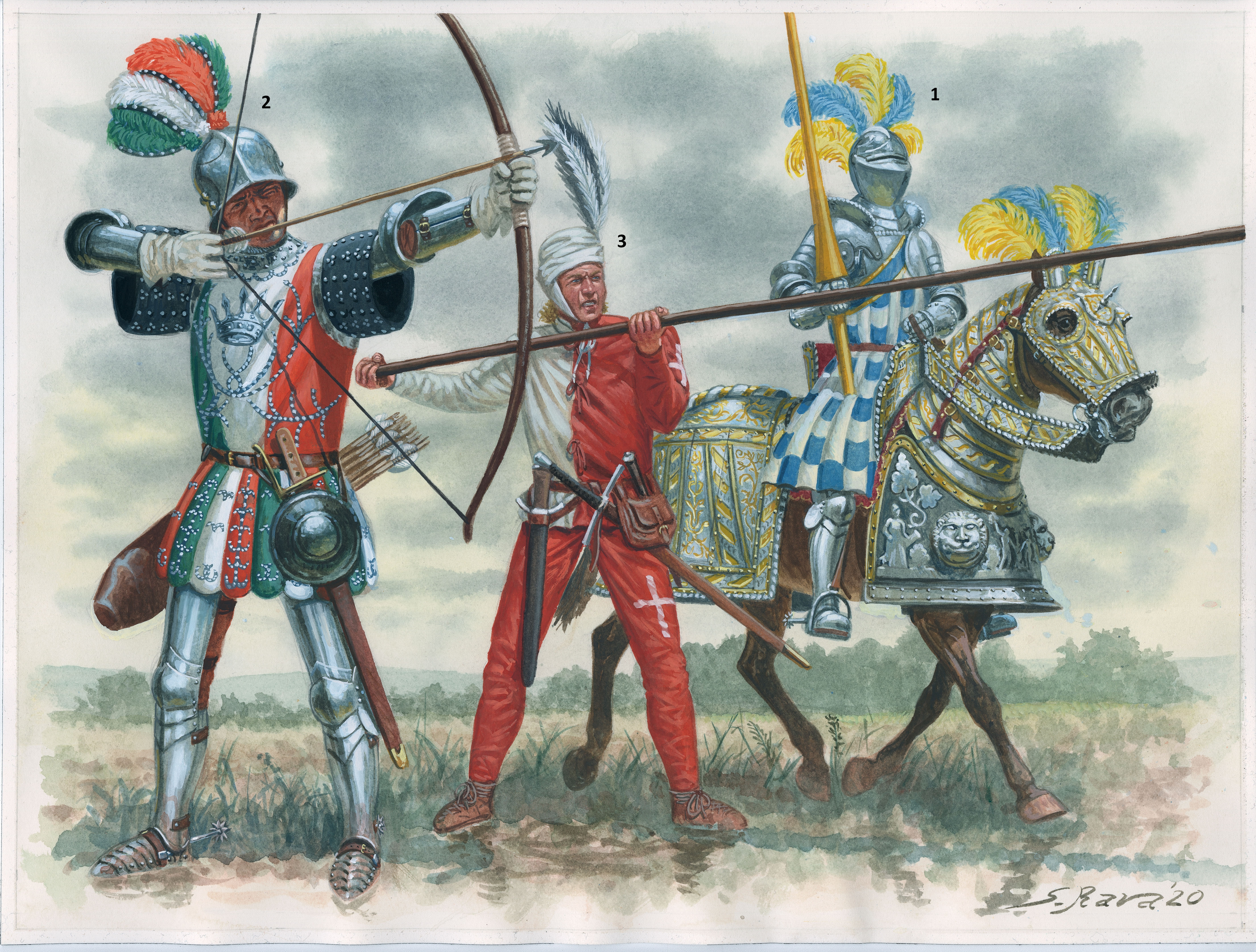 Renaissance Armies in Italy 1450–1550
