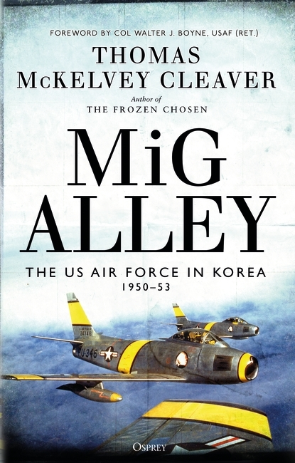 MiG Alley Book Cover