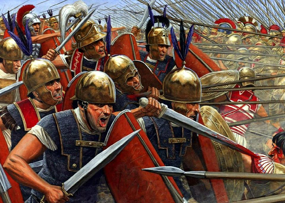 Roman republic legionairies