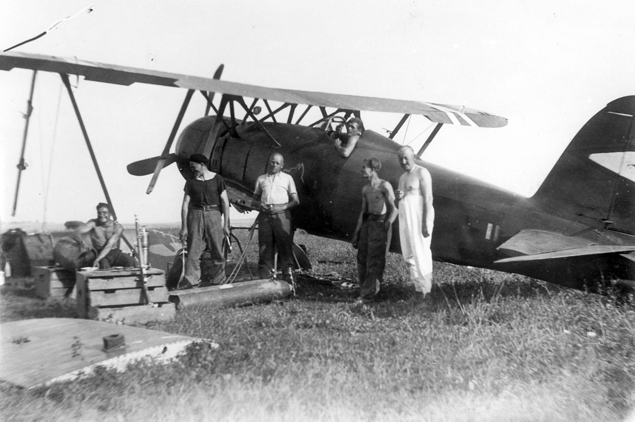 Hungarian Fiat CR.42