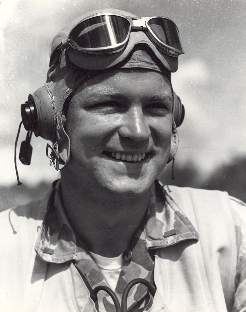 Robert M. Hanson, USMC, World War II flying ace (USMC)