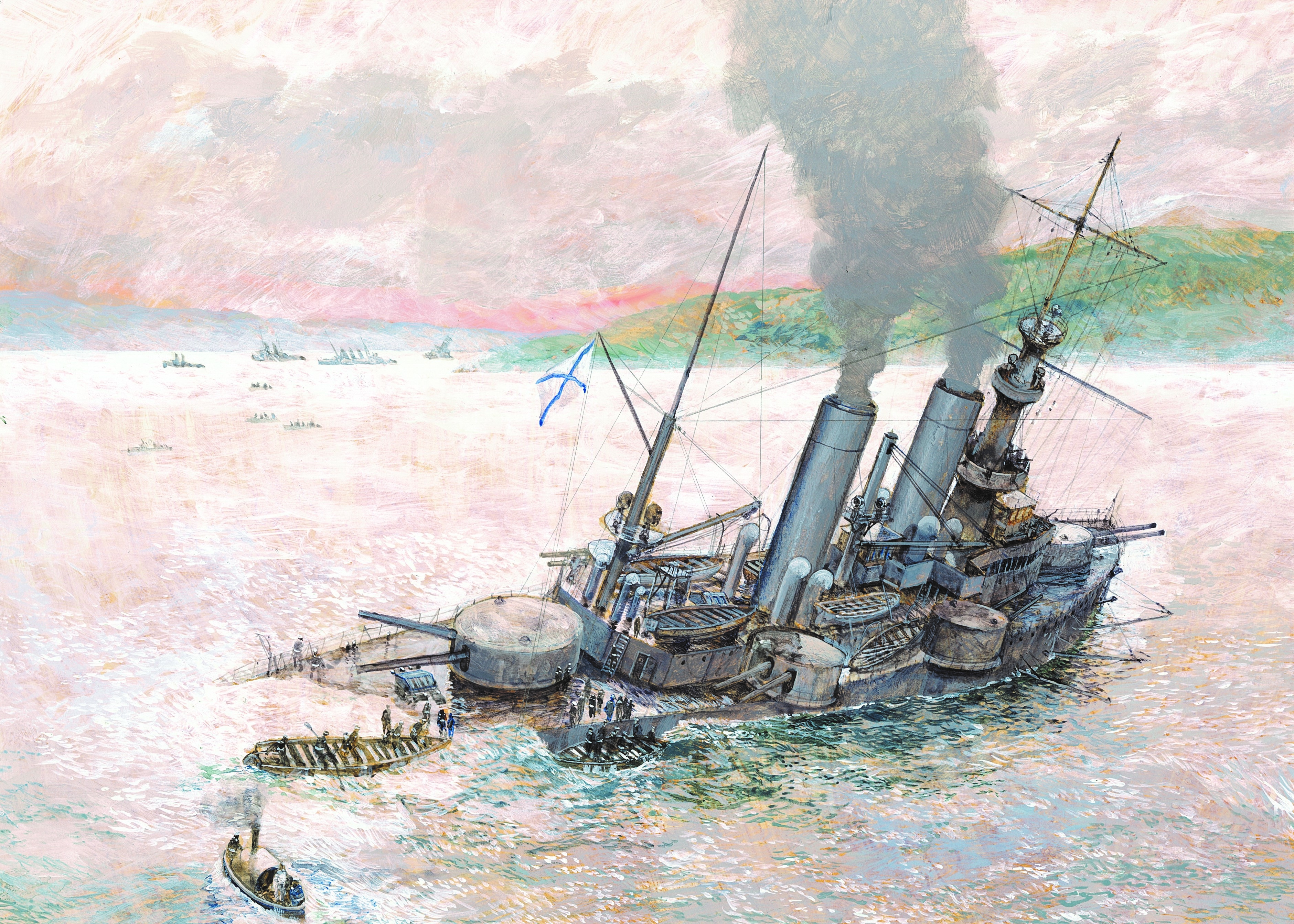 Russian Battleships and Cruisers of the Russo-Japanese War Image
