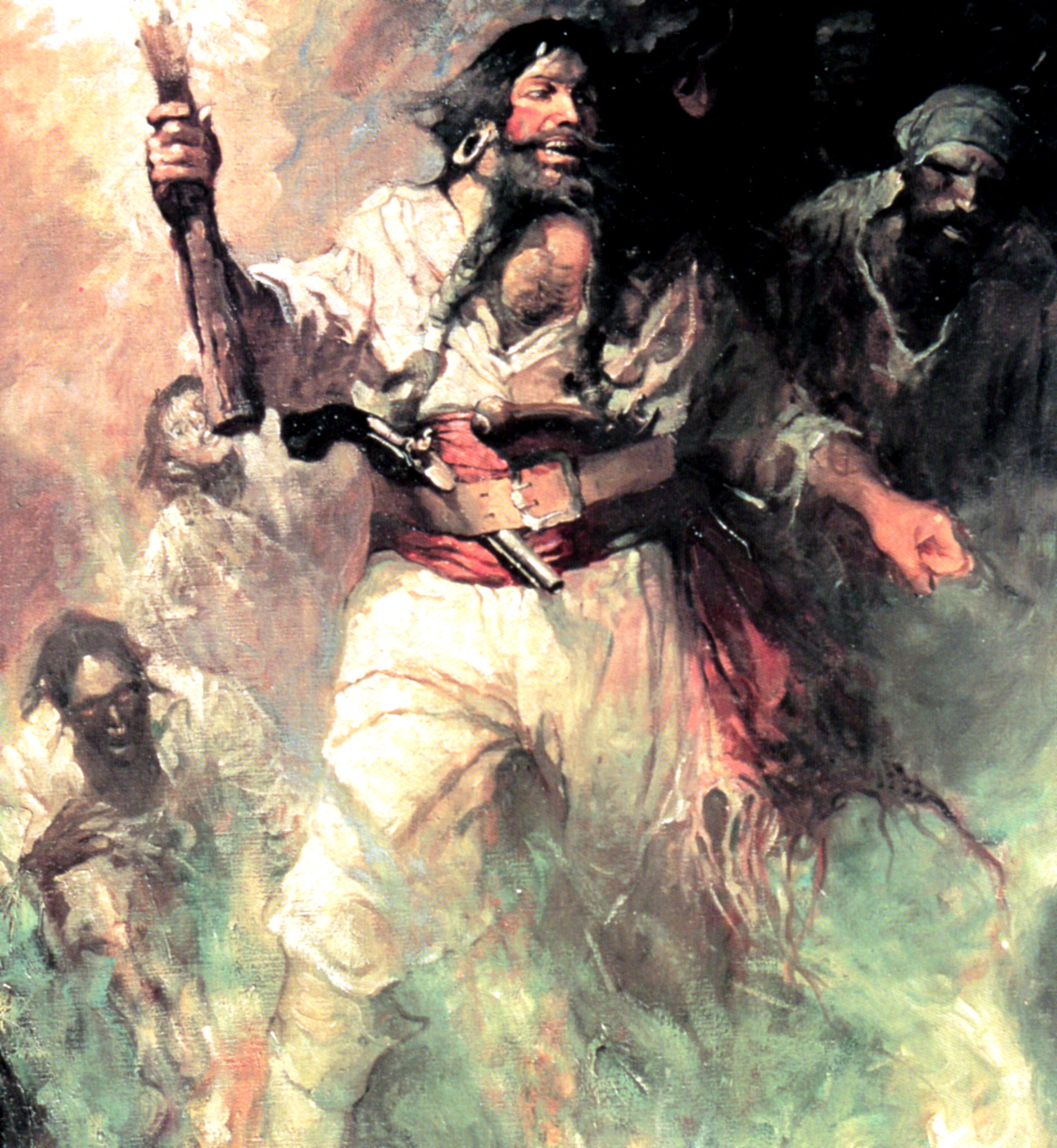 Blackbeard by Frank Schoonover
