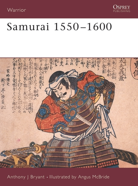 Samurai 1550–1600 Cover