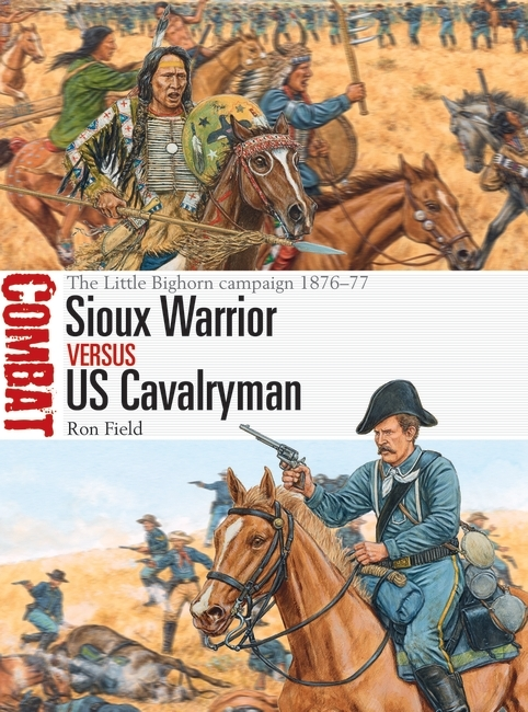 Sioux Warrior vs US Cavalryman Image