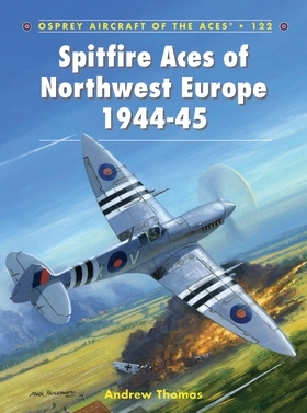 Spitfire Aces of Northwest Europe 1944-45 Cover