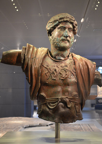 Statue of Hadrian unearthed at Tel Shalem