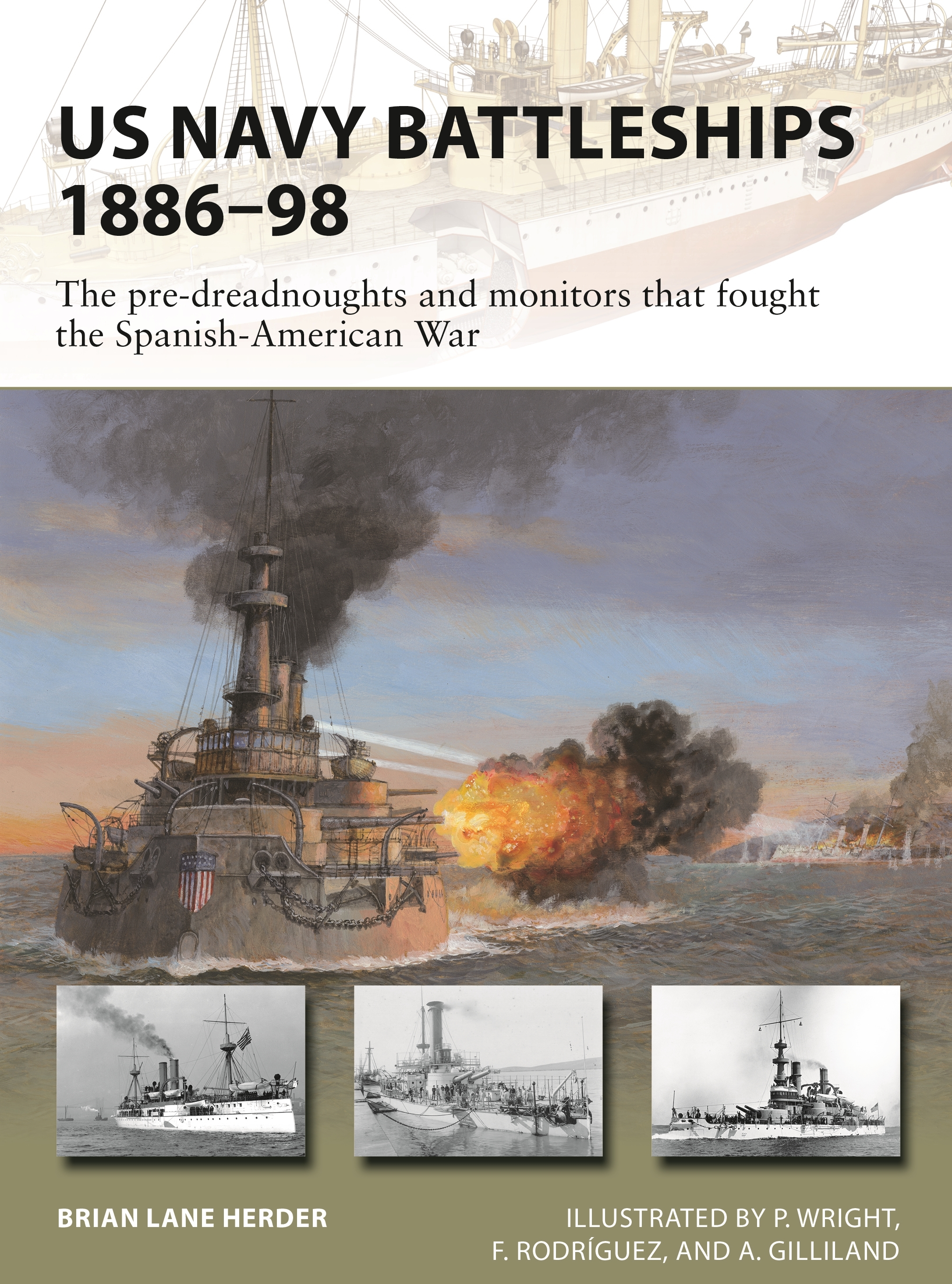 US Navy Battleships 1886-98 Cover