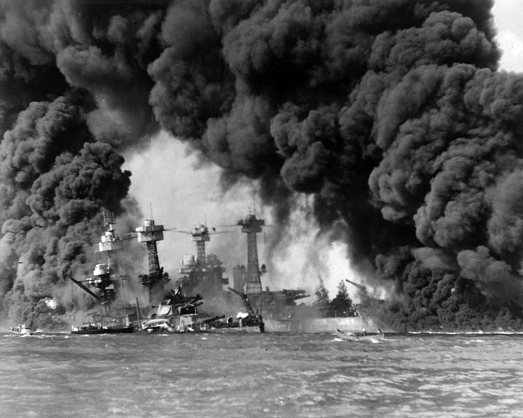 USS Virginia and Tennessee Pearl Harbor