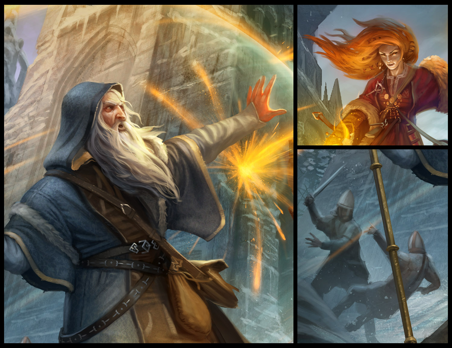 Blog - Creating the cover for Frostgrave - Osprey Publishing