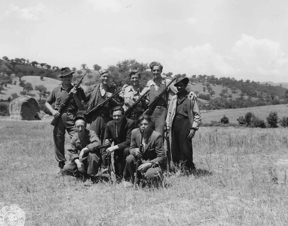 A group of Allied ex-POWs